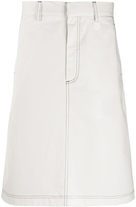 Xander Zhou Knee-Length Skirt