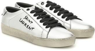 Saint Laurent Court Classic SL/06 leather sneakers