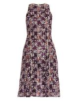 Mary Katrantzou Iris embroidered tulle dress