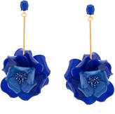 Oscar de la Renta Petunia long earrings