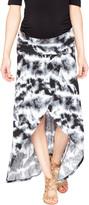 Motherhood Secret Fit Belly Tye Dye Maternity Skirt