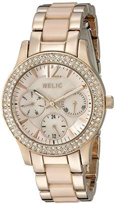 Fossil Relic by Women's Bethany Quartz Stainless Steel and Ceramic Dress Watch