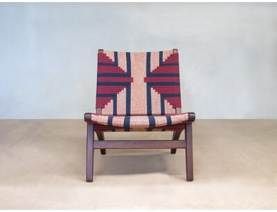 """Thumbnail for your product : Masaya & Co Masaya 24"""" Wide Polyester Lounge Chair"""