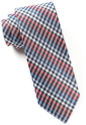 Tie Bar Daydream Plaid Red Tie