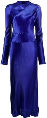 Marni Band Collar Midi Dress