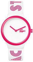 Lacoste Unisex White Analog Goa Watch
