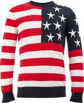 Balmain USA flag jumper