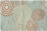 "Bacova Galaxy Cotton 20"" x 30"" Spiral Accent Rug"