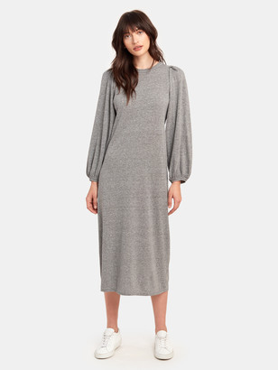 The Great The Pleat Sleeve Dress