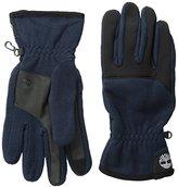 Timberland Men's Performance Fleece Glove with Touchscreen Technology, Dark Sapphire, Medium