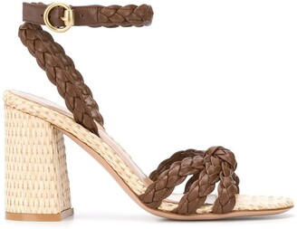 Gianvito Rossi Braided Sandals