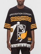 "Undercover Improvisation Concepts"" Oversized S/S T-Shirt"