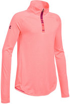 Under Armour UA TechTM Quarter-Zip Shirt, Big Girls (7-16)