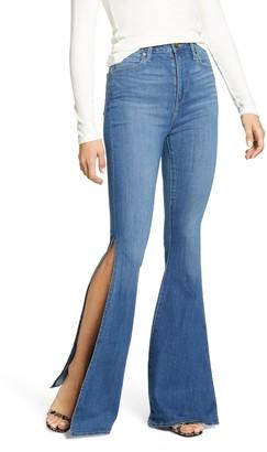Articles of Society Bridgette Side Slit Flare Jeans