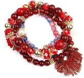 Riah Fashion Chic Beaded Bracelet Set