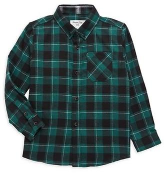 Sovereign Code Little Boy's Logic Flannel Shirt