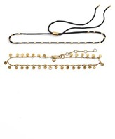 Madewell Women's Set Of 2 Choker Necklaces