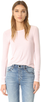 Feel The Piece Aida Ribbed Long Sleeve Tee
