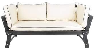 Safavieh Tandra Modern Contemporary Daybed - Ash Grey/White
