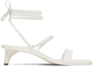 Jil Sander 45mm Leather Sandals