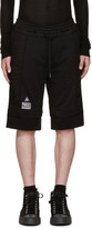 Kokon To Zai Black Logo Patch Lounge Shorts