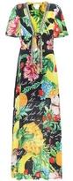 Camilla Floral-printed silk maxi dress