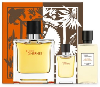 Hermes Terre d'Hermes Pure Perfume 3-Piece Gift Set