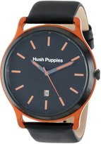 Hush Puppies Men's HP.3799M.2518 Freestyle Ion-Plated Coated Stainless Steel Case Orange Aluminum Frame Watch