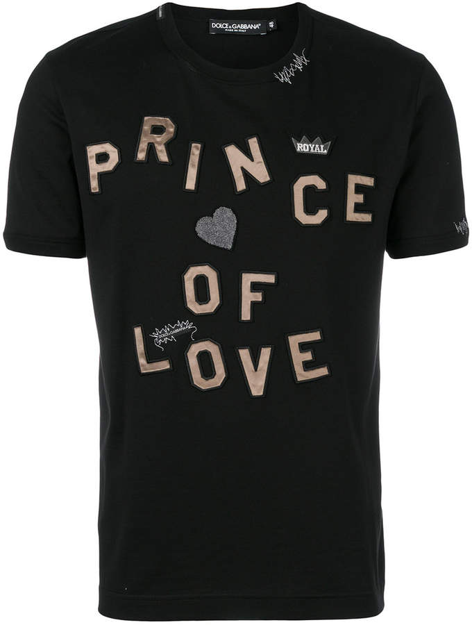 Dolce & Gabbana Prince Of Love T-shirt