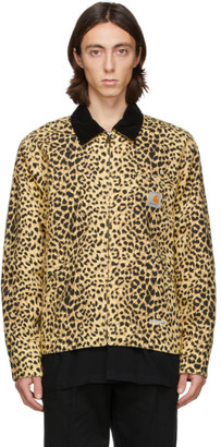 Wacko Maria Yellow and Black Carhartt WIP Edition Detroit Jacket