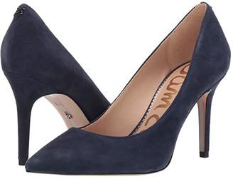 Sam Edelman Margie (Baltic Navy Suede Leather) Women's Shoes