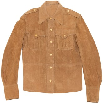 Ted Lapidus Camel Suede Jackets