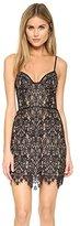 For Love & Lemons Women's Vika Paisley Floral Lace Mini Dress