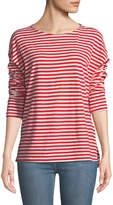 Current/Elliott The Breton Cotton Long-Sleeve T-Shirt