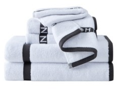 Sean John Block Letter 6 Piece Towel Set Bedding