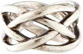 Tiffany & Co. Crisscross Band Ring