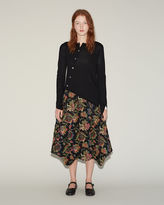 Comme des Garcons Calico Patchwork Skirt