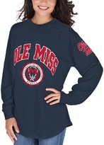 Unbranded Women's Navy Ole Miss Rebels Edith Long Sleeve T-Shirt