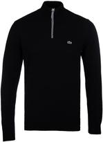 Lacoste Black New Wool Sweater