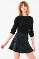 BDG Tai Plaid Circle Skirt