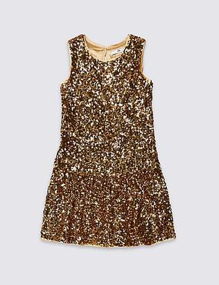 Marks and Spencer Sequin Dress (3-16 Years)