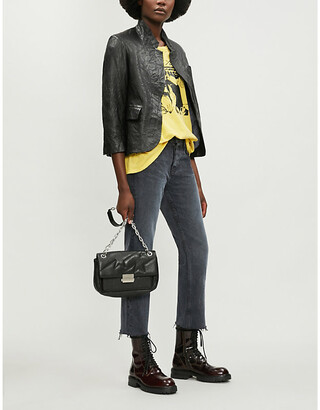 Zadig & Voltaire Verys leather jacket