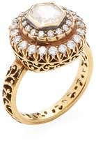 Amrapali Women's 14K Yellow Gold & 1.45 Total Ct. Diamond Ring