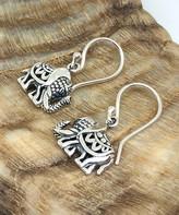 Sevil 925 Women's Earrings - Sterling Silver Elephant Drop Earrings