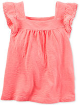 Carter's Flutter-Sleeve Top, Toddler Girls (2T-4T)