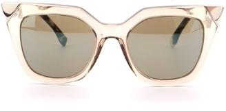 Fendi Iridia Cat Eye Sunglasses Acetate with Metal