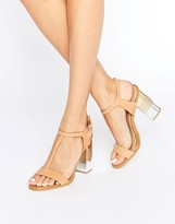 Aldo Feltrone Heel Leather Sandal