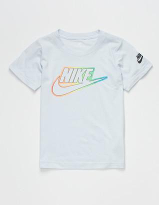Nike Futura Blend Little Boys Light Blue T-Shirt (4-7)