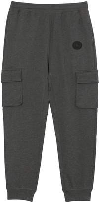 Pocket Detail Cotton Jersey Trackpants