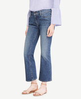 Ann Taylor Petite Flare Crop Jeans